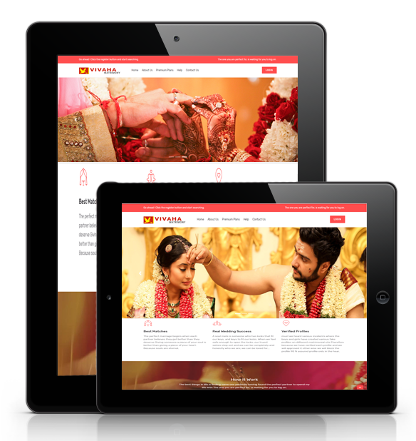 matrimonial web development